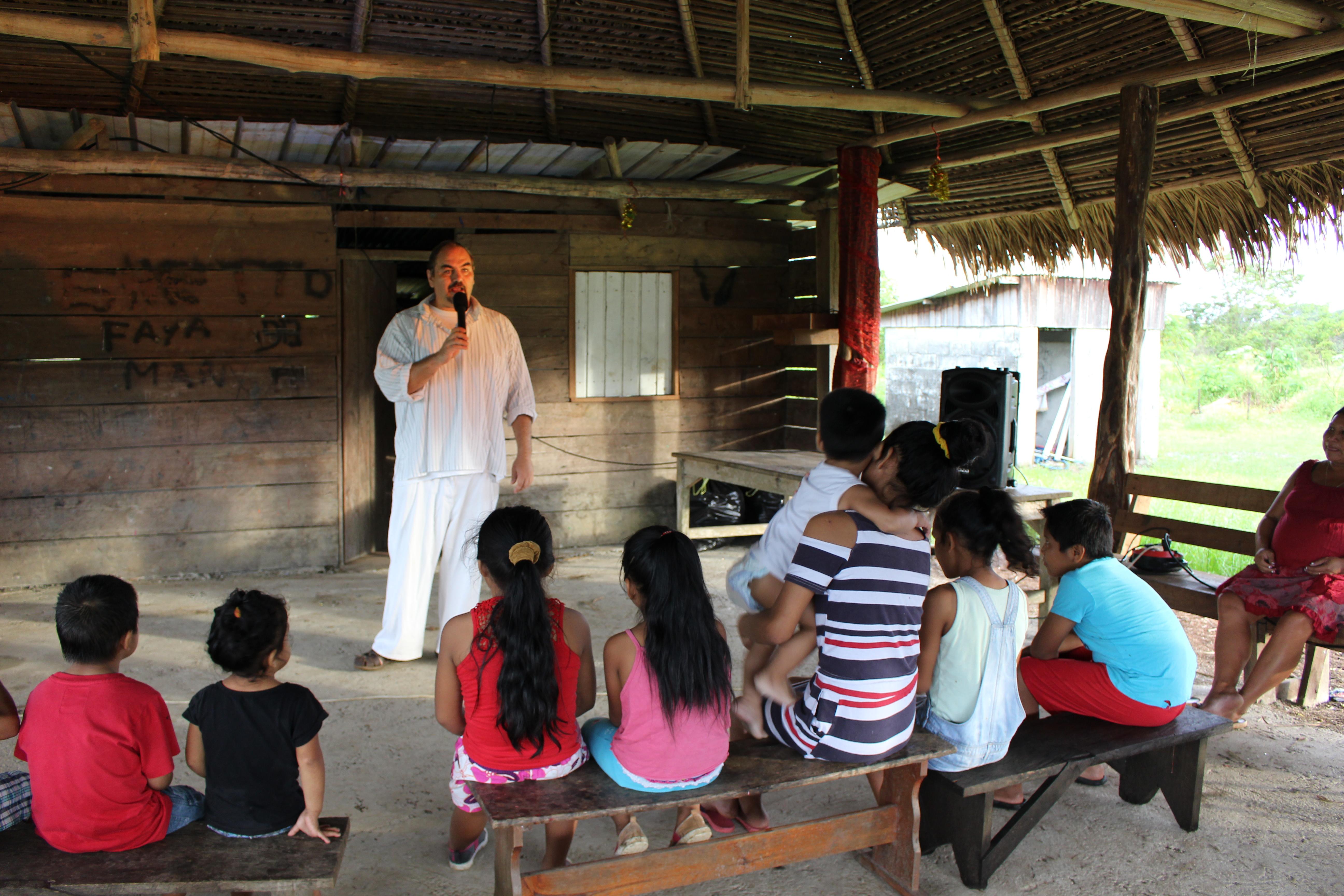 contes et lectures en village